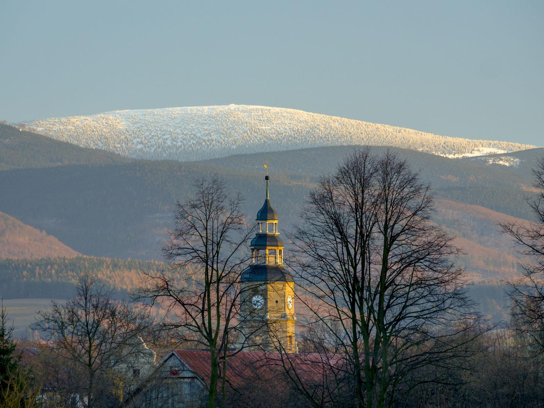 Śnieżnik bez wieży! (zdjęcie wykonał Tomasz Gmerek)